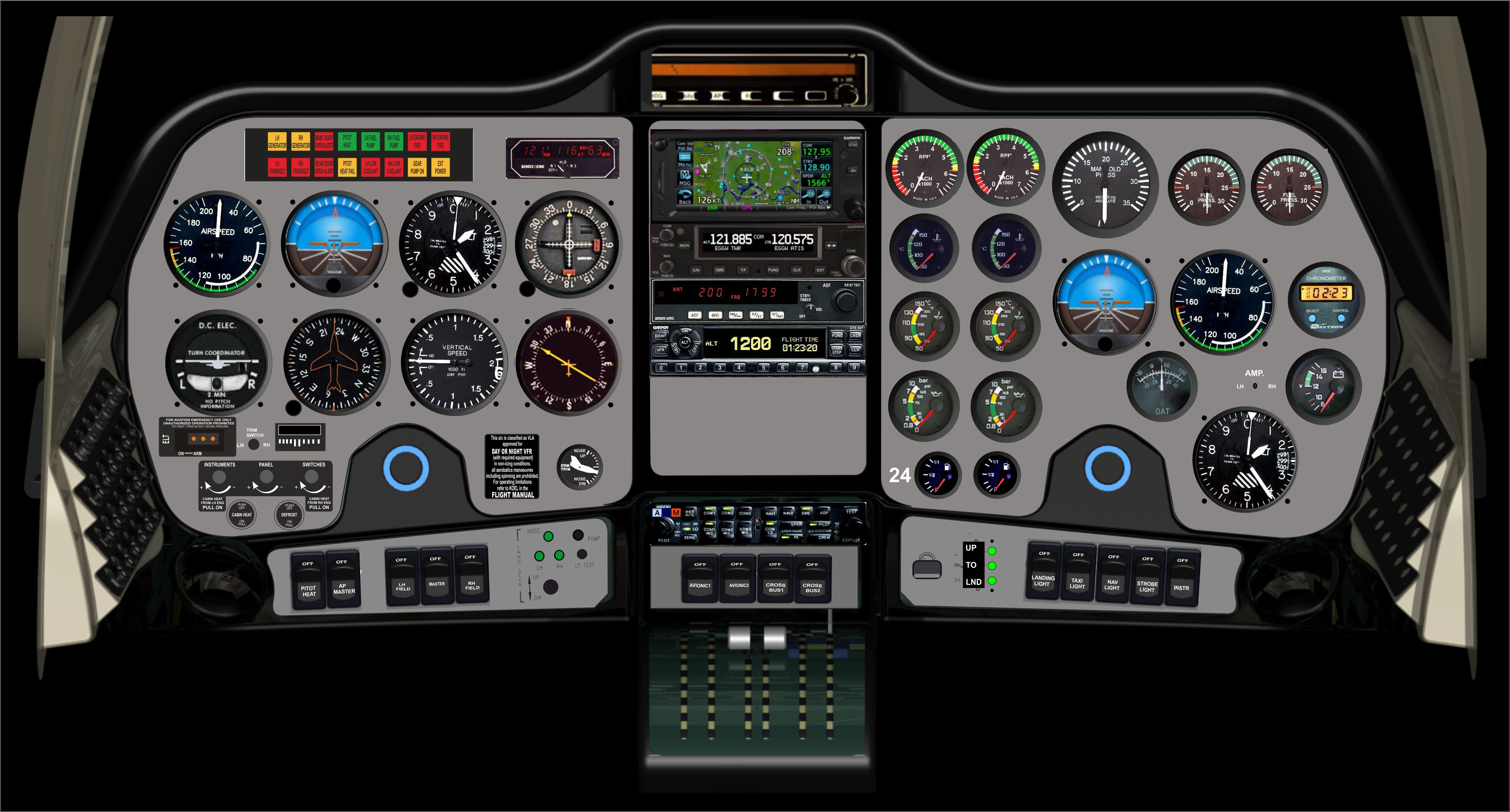 P2006T-Analogue Avionics