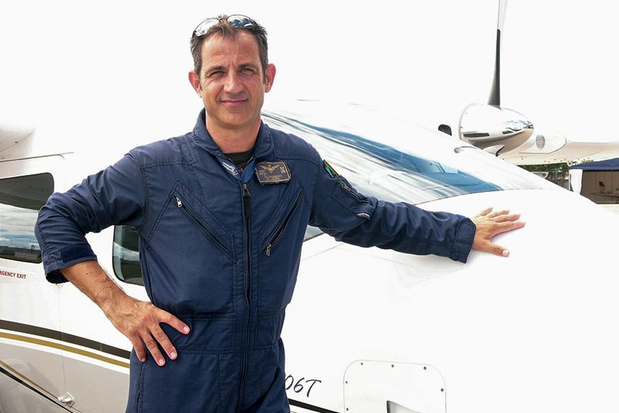 New Tecnam Test Pilot Alessandro Scaburri