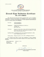 AircraftTypeValidationCertificateP2002JF-JR