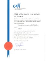P2010-TA Certificate