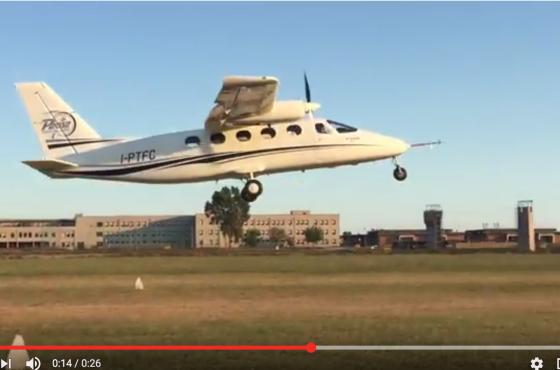 P2012 Maiden Flight Video