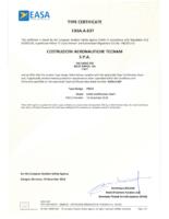TECNAM P2012 Type Certificate